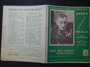 náhled knihy - Aféra plukovníka Rédla (1. Žena má uspává doma děti! : 2. Jen jednou nám je dvacet let)