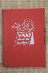 náhled knihy - Normy studené kuchyně