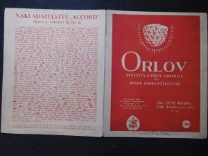 náhled knihy - Orlov - Operetta o třech jednáních od Bruna Granichstaedtena