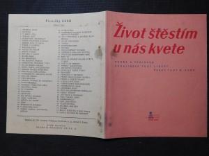 náhled knihy - Život štěstím u nás kvete ukrajinský text lidový