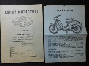 náhled knihy - Lahký motocykel Jawa