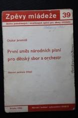 náhled knihy - První směs národních písní pro dětský sbor a orchest