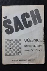 náhled knihy - Šach : učebnice šachové hry pro začátečníky