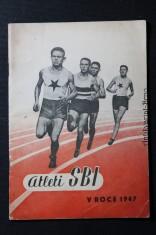 náhled knihy - Zpráva o činnosti lehkoatletického oddílu SBI za rok 1947