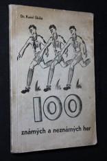 náhled knihy - Stovka známých a neznámých her
