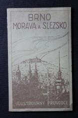 náhled knihy - Brno, Morava a Slezsko : ilustrovaný průvodce se 17 obrázky a plánem města Brna