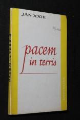 náhled knihy - Pacem in terris = Mír na zemi : okružní list svatého Otce Jana XXIII. o míru mezi národy a o tom, jak ho nastolit v pravdě, spravedlnosti, lásce a svobodě, Řím, 11. dubna 1963 Mír na zem