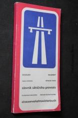 náhled knihy - Česko-německý [a] německo-český slovník silničního provozu