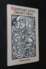 náhled knihy - Staročeské satiry Smilovy školy