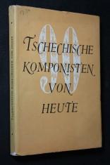 náhled knihy - Tschechische Komponisten von heute