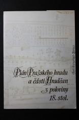 náhled knihy - Plán Pražského hradu a části Hradčan z poloviny 18. stol.