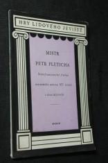 náhled knihy - Mistr Petr Pleticha : starofrancouzská fraška neznámého autora 15. stol. o 2 dějstvích
