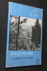 náhled knihy - Krkonoše v létě i v zimě