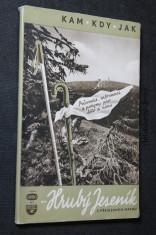 náhled knihy - Na Hrubý Jeseník s přehlednou mapou : průvodce, inf. a pokyny pro léto i zimu
