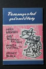 náhled knihy - Trampské písničky Míra Navara, Jiří Borovka-Rejsek, Honza Vyčítal, Mickey Black č. 6-7