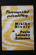 náhled knihy - Trampské písničky Mikiho Rivoly a Pavla Lohonky-Žalmana č. 3-4