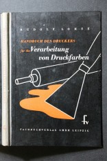 náhled knihy - Handbuch des druckers für die Verarbeitung von Druckfarben