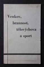 náhled knihy - Venkov, brannost, tělovýchova a sport