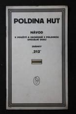 náhled knihy - Poldina huť : návod k použití a zacházení s poldinou speciální ocelí známky