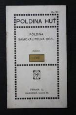 náhled knihy - Poldina huť : poldina samokalitelná ocel známky