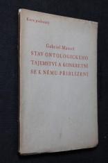 náhled knihy - Stav ontologického tajemství a konkretní se k němu přiblížení