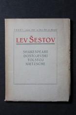 náhled knihy - Lev Šestov, čili, Filosofie tragedie : [Shakespeare, Dostojevski, Tolstoj, Nietzsche
