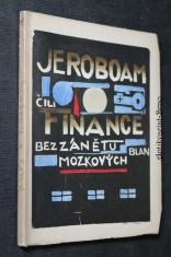 náhled knihy - Jeroboam, čili, Finance bez zánětu blan mozkových od Paula Laffitta