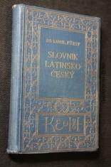náhled knihy - Slovník latinsko-český se zřetelem k potřebě žactva středních škol