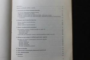 náhled knihy - Návrh síťového transformátorku