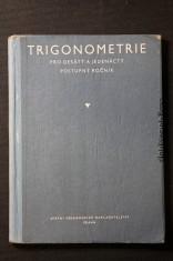náhled knihy - Trigonometrie pro desátý a jedenáctý postupný ročník škol všeobecně vzdělávacích
