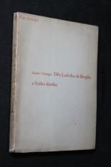 náhled knihy - Dílo Ludvíka de Broglie a fysika dneška