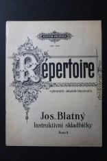 náhled knihy - Répertoire vybraných skladeb klavírních. Instruktivní skladbičky, řada II.