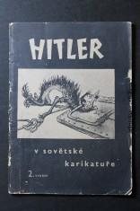 náhled knihy - Hitler v sovětské karikatuře