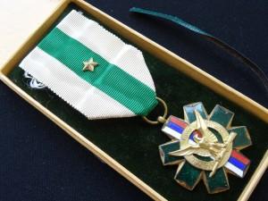 náhled knihy - Odznak za členství a činnost ve střelectvu  a ČSR obci střelecké