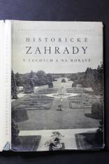 náhled knihy - Historické zahrady v Čechách a na Moravě