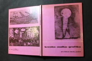 náhled knihy - Kresba, malba, grafika pro lidové školy umění