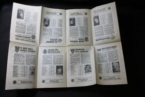 náhled knihy - Informační brožura I. ligy kopané