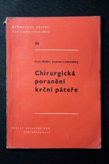náhled knihy - Chirurgická poranění krční páteře