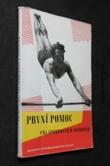 náhled knihy - První pomoc při sportovních nehodách