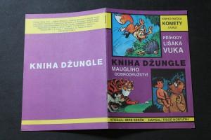 náhled knihy - Kniha džungle : Mauglího dobrodružství : příhody lišáka Vuka : [obrázkový příběh]