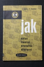 náhled knihy - Jak dělat linoryt, dřevořez, dřevoryt