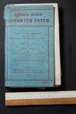 náhled knihy - Píšova mapa Vysokých Tater