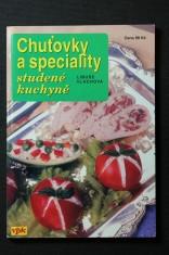 náhled knihy - Chuťovky a speciality studené kuchyně