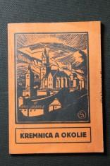 náhled knihy - Kremnica a okolie : doporučené a schválené ústredným výborom Klubu čs. turistov v Prahe