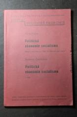 náhled knihy - Politická ekonomie socialismu : podle předn. na VŠHV ve stud. r. 1949-50