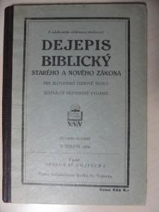 náhled knihy - Dejepis biblický starého a nového zákona pre slovenské ľudové školy