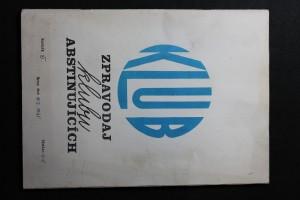 náhled knihy - KLUB : Zpravodaj klubu abstinujících č. 4 - 5