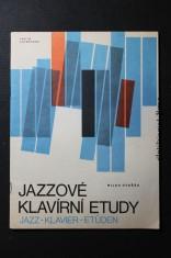 náhled knihy - Jazzové klavírní etudy