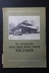 náhled knihy - Ze studiow nad budownictwem Wiejskim