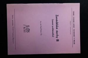 náhled knihy - Zemědělské stavby. [Díl] 3 : územní problematika : určeno pro stud. fak. architektury